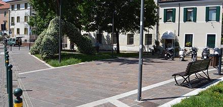 immagine Pavimentazione Piazza Trentin